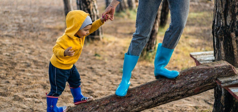 child blue jeans